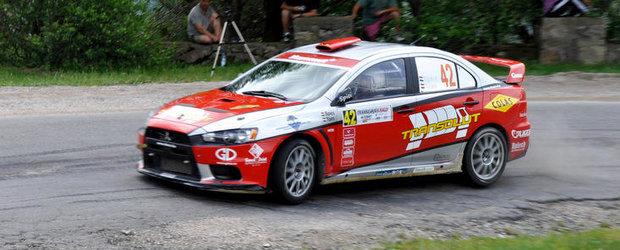 Transilvania Rally, prima victorie pentru Csaba Spitzmuller in CNR Dunlop 2012