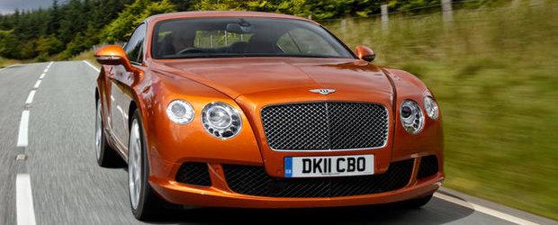 Transmisie cu 8 rapoarte pentru noile Bentley Continental GT si GTC