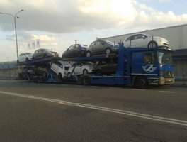 Transport auto Italia Romania