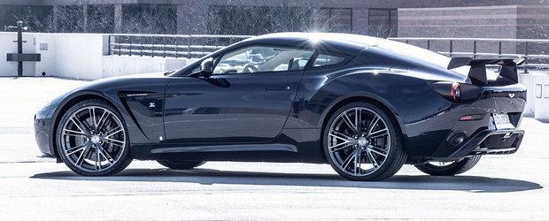 Tratament special pentru exclusivistul Aston Martin V12 Zagato