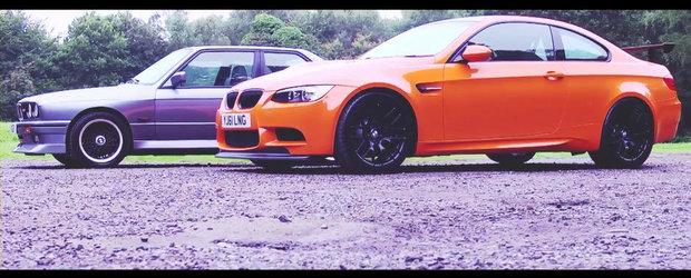 Trecutul intalneste prezentul: BMW M3 E30 versus BMW M3 E92 GTS