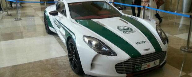 Trei noi supercaruri, printre care si un Aston One-77, pentru Politia din Dubai