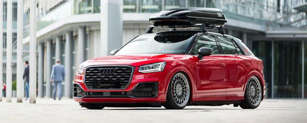 Trei tuneri se intrec pentru crearea celui mai frumos Audi Q2. El ar putea fi marele castigator