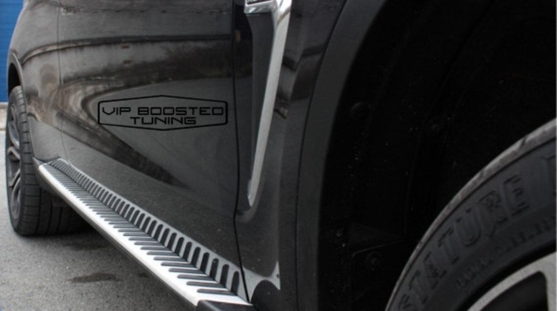 Trepte Laterale aluminiu BMW X5 F15 (2014-2018)