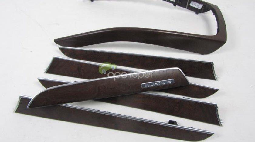 Trimuri Interior Ornamente Audi A4 8K Originale Lemn Mat