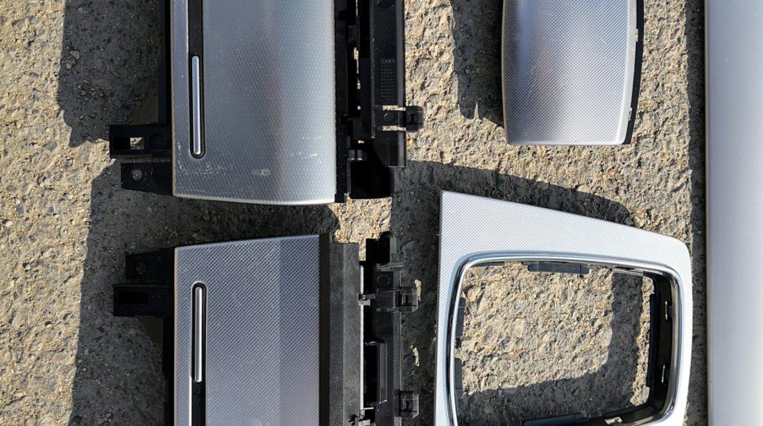 Trimuri/ornamente aluminiu brushed Audi A4 B6 B7 S-Line