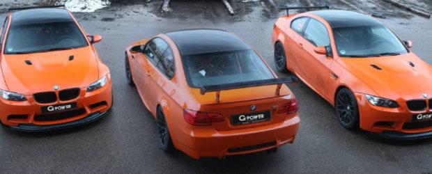 Trio mortal: G-Power prezinta trei BMW M3 GTS de 720 cai putere