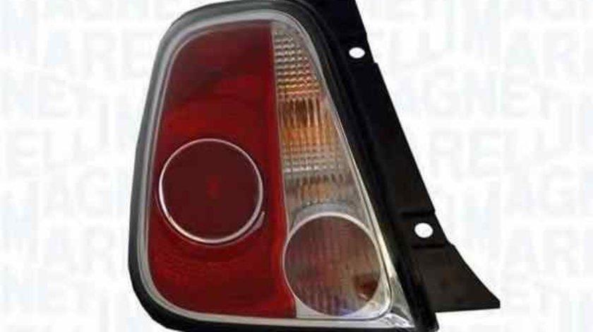 Tripla Lampa spate FIAT 500 312 MAGNETI MARELLI 714027040787