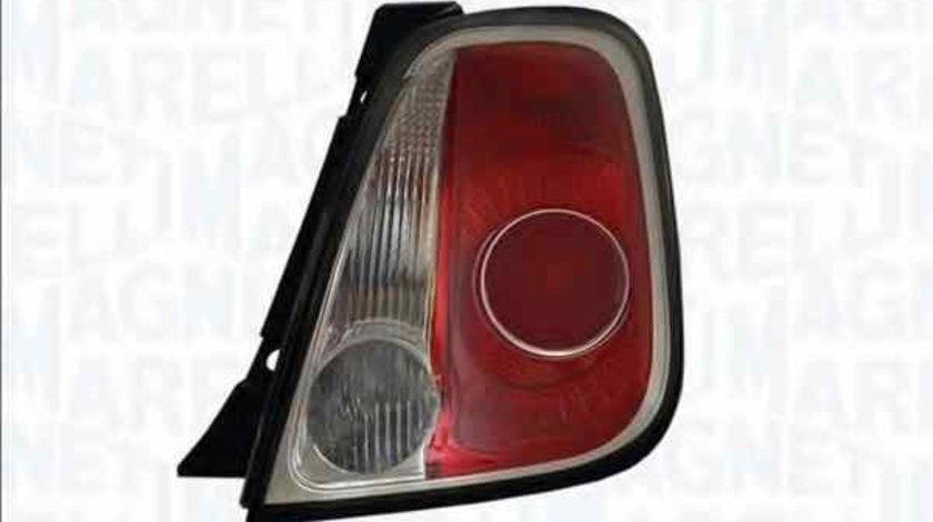 Tripla Lampa spate FIAT 500 312 MAGNETI MARELLI 714027040886