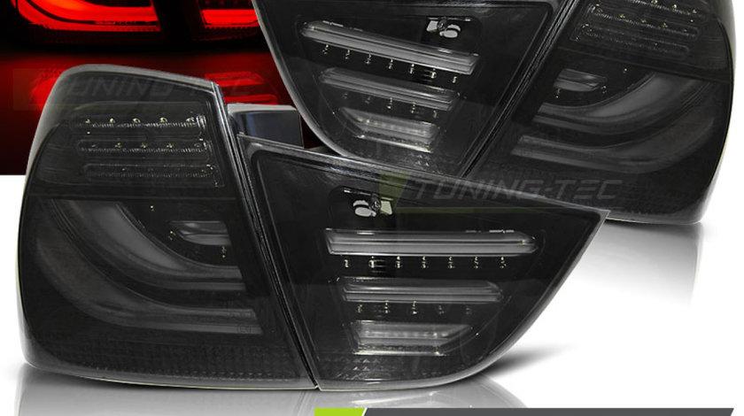 Triple BMW E90 09-11 SMOKE BLACK LED BAR