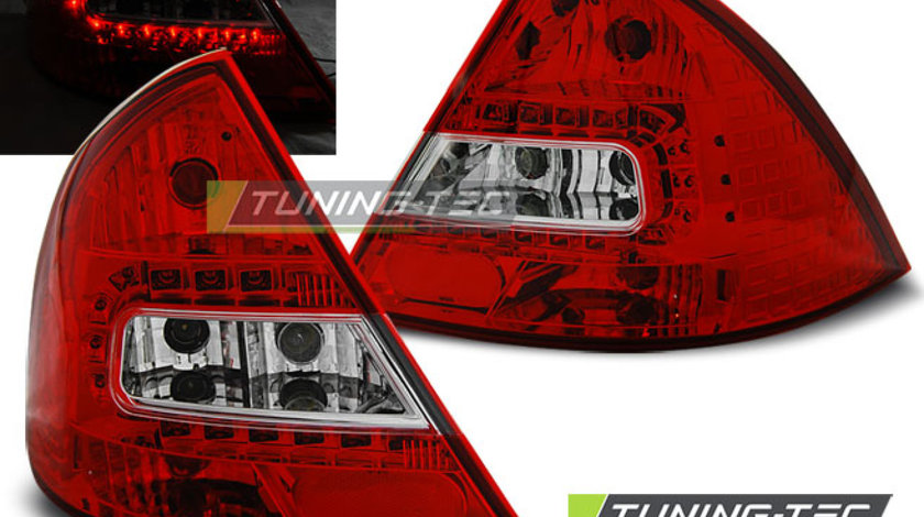 Triple FORD MONDEO MK3 09.00-07 RED SMOKE LED, RED WHITE LED,SMOKE LED