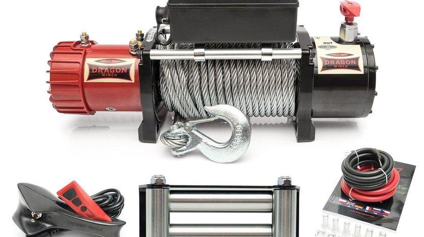 Troliu electric DRAGON WINCH 13000lbs(5897 kg) 12 V + cadou