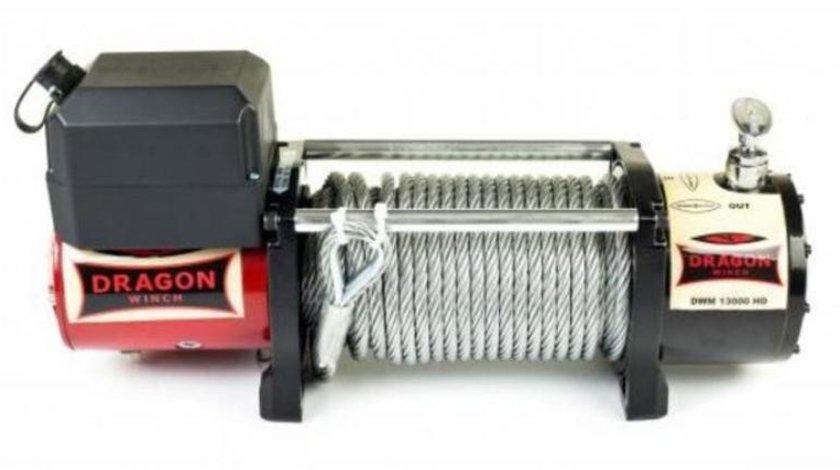 Troliu electric DRAGON WINCH 13000lbs (5897 kg) la 24V