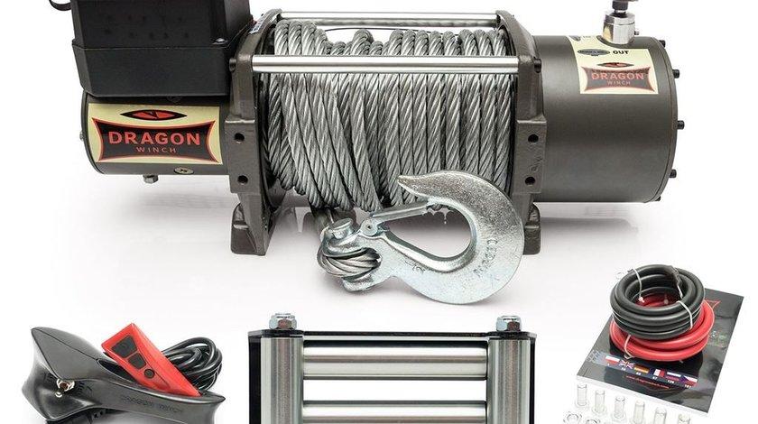 Troliu electric Dragon Winch 16800lbs(trage 7620kg) 24V +cadou