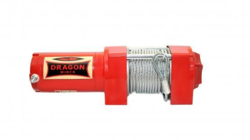 Troliu electric Dragon Winch de 3500lbs (trage 1580kg) la 12V