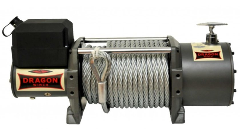 Troliu electric Dragon Winch mare de 16800lbs(trage 7620kg) la 12V sau 24V