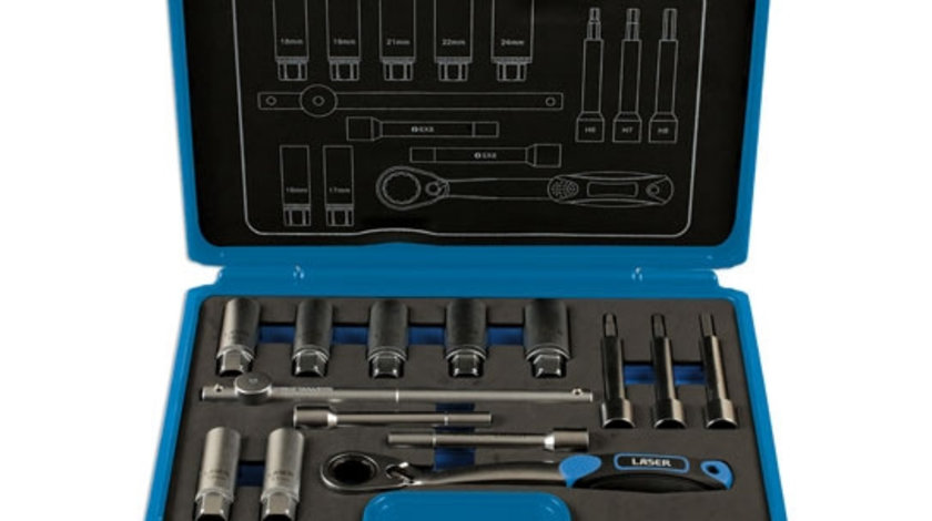 Trusa de scule pentru amortizoare 14 piese Laser Tools
