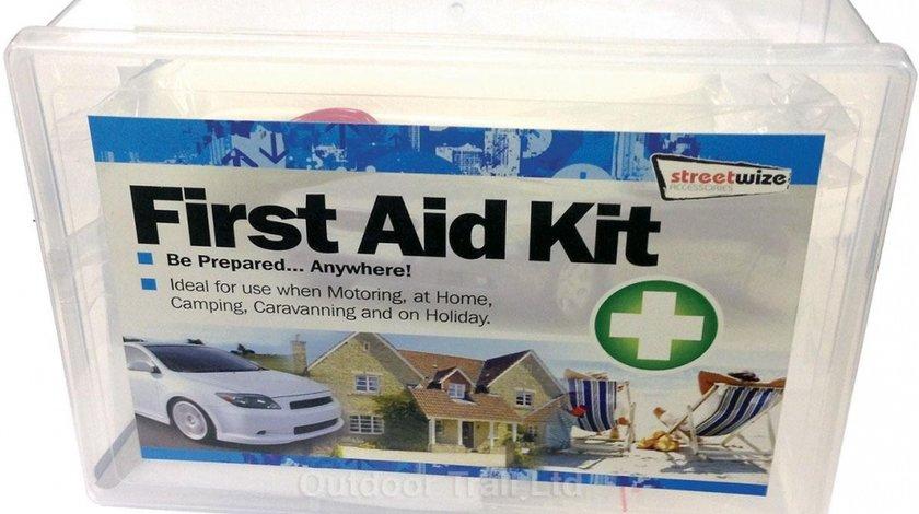 Trusa medicala auto de prim ajutor Streetwize 21x14.5x6cm