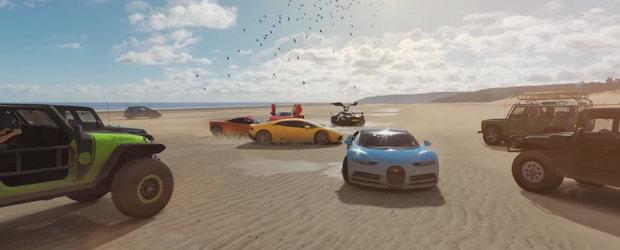 Tu cum iti vei pierde vremea? Acestea sunt masinile pe care le vei putea conduce in Forza Horizon 4