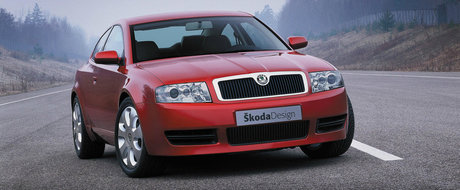 Tu stiai: Ca Skoda a construit in urma cu 16 ani un SUPERB COUPE cu motor V6 de 2.8 litri?