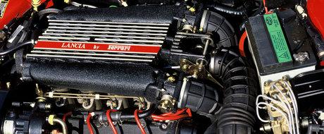 Tu stiai: Cum arata Lancia Thema 8.32, berlina cu tractiune fata si motor V8 marca Ferrari?