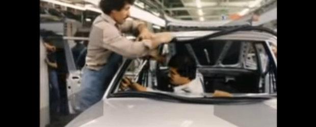 Tu stiai? Un video mai vechi ne arata cum BMW-ul Ursulet era asamblat