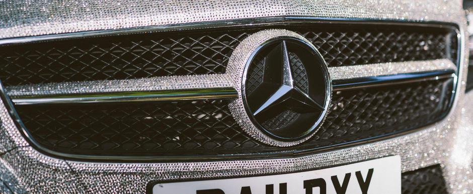 TU ti-ai cumpara un Mercedes incrustat cu diamante?