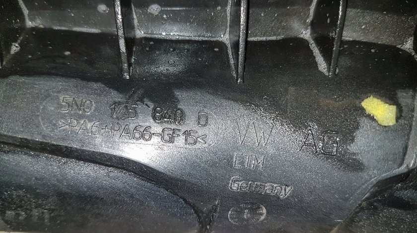 Tub intercooler 5n0145840d vw scirocco 2.0 tdi cbdb 140 cai