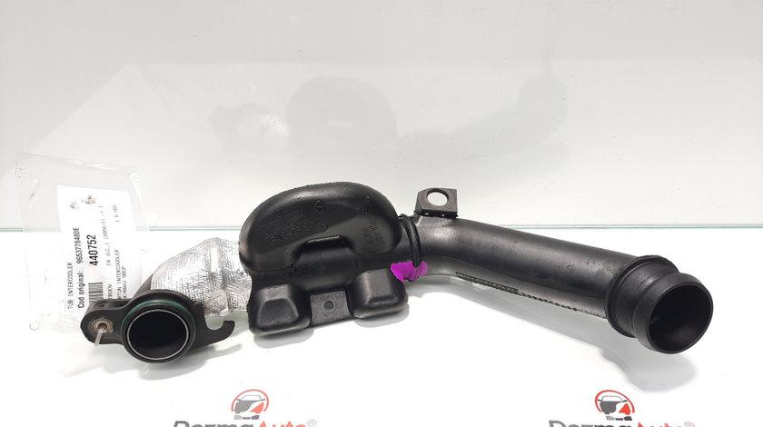 Tub intercooler, Citroen C4 (I) [Fabr 2004-2011] 1.6 hdi, 9HX, 9653778480E (id:440752)