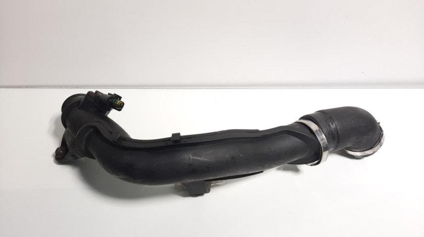 Tub intercooler cu senzor, cod 6R0145770A, Skoda Rapid (NH3), 1.6 tdi, CAYC, (id:432179)