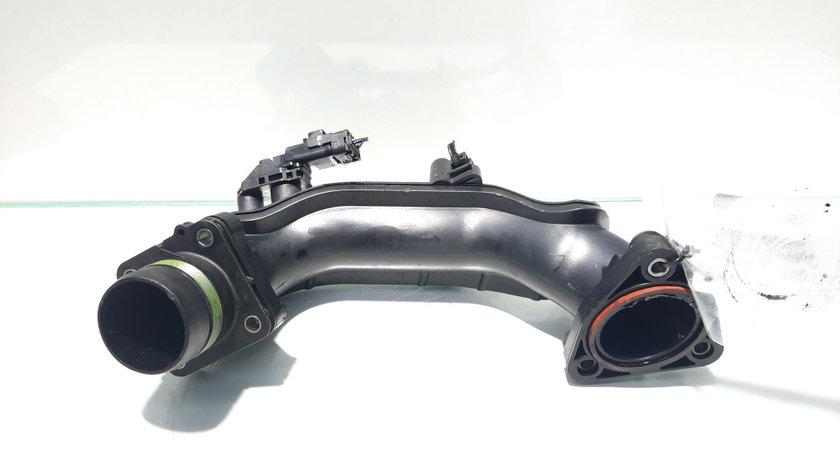 Tub intercooler cu senzor, Peugeot 308, 1.6 HDI, 9H06, cod 9674942380, 9674951680 (id:450889)