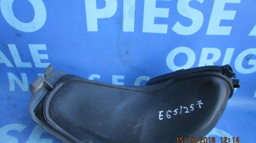 Tubulatura aer BMW E65 730d; 8379955 // 8379956 (filtru polen)