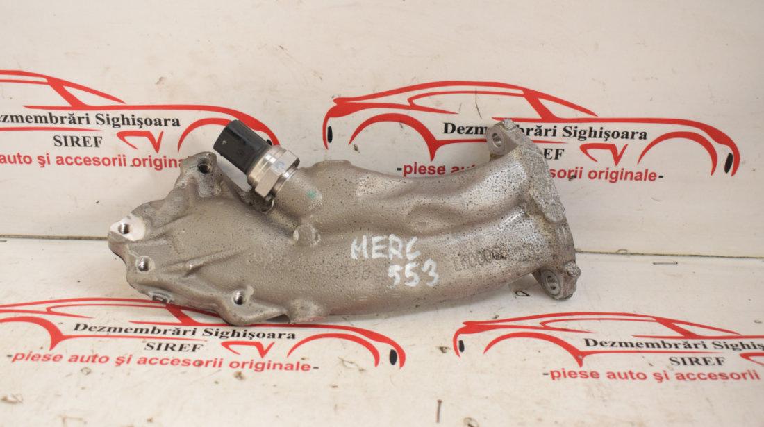 Tubulatura valva EGR cu senzor Mercedes Benz 2.2 CDI W204 2011 Euro 5 204 CP A6511402108 553
