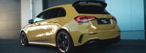 Tunerii au prins gustul noului Mercedes-AMG A45 S. Cel mai recent pachet vine din Germania