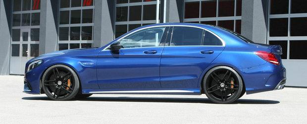 Tunerul de casa al BMW s-a apucat de modificat Mercedes-uri. Ce s-a intamplat cu acest C63 AMG