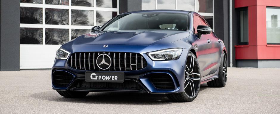 Tunerul de casa al marcii BMW a luat la modificat cel mai puternic automobil din gama rivalilor de la Mercedes-Benz. POZE REALE