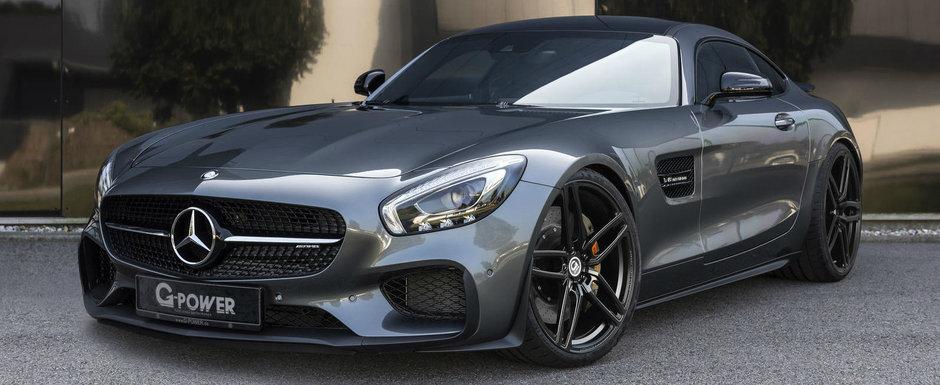 Tunerul de casa al marcii BMW s-a pus pe modificat un Mercedes-AMG. Iata ce a iesit