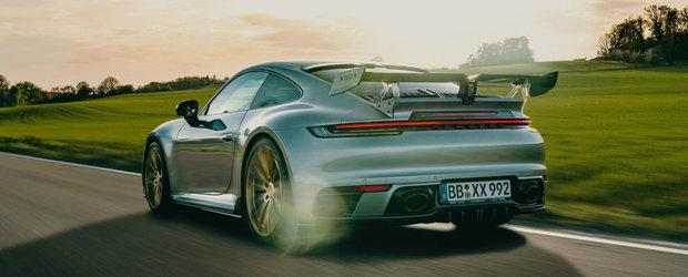 Tunerul de casa al nemtilor de la Porsche a terminat de modificat noul 911. Cati cai are