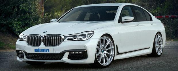 Tunerul Noelle Motors a creat cel mai puternic BMW Seria7. Cum va suna 629 de cai?