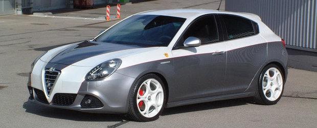 Tuning Alfa Romeo: Auto Avio Costruzioni ne ispiteste cu o Giulietta in doua culori, de 270 CP