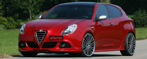 Tuning Alfa Romeo: Noua Giulietta primeste tratamentul Novitec!