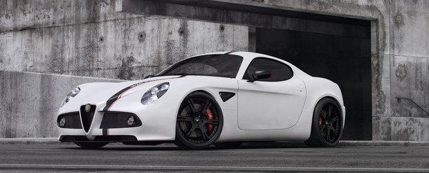 Tuning Alfa Romeo: Wheelsandmore atinge subtil legendarul 8C Competizione