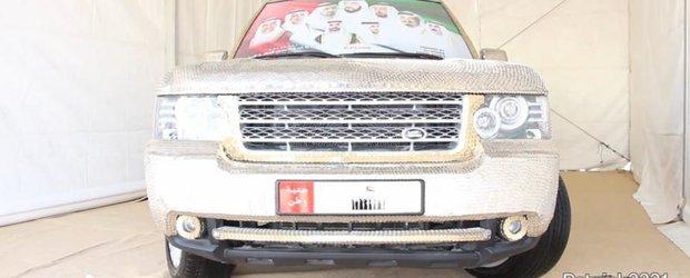 Tuning arabesc: Range Rover acoperit de peste 57.000 de monede