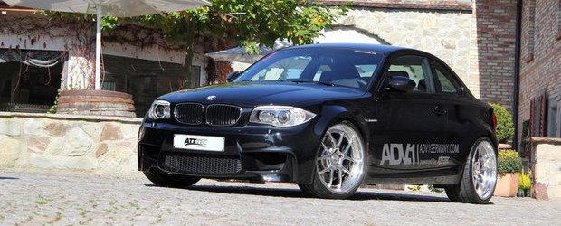 Tuning ATT-TEC: BMW 1M Coupe primeste 454 CP, plus alte bunatati