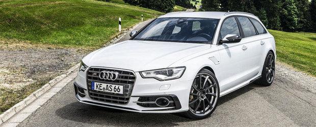 Tuning Audi: ABT dezvaluie noul AS6-R, un S6 Avant de 600 cai putere!