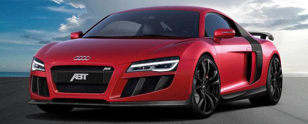 Tuning Audi: ABT modifica noul R8 V10, obtine 600 cai putere
