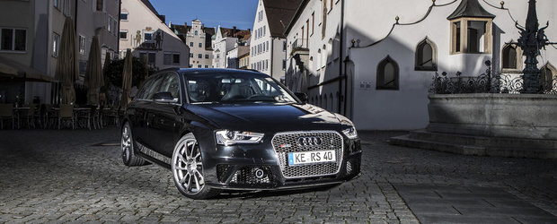 Tuning Audi: ABT modifica noul RS4 Avant