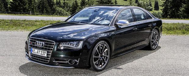 Tuning Audi: ABT scoate la iveala partea sportiva a noului S8