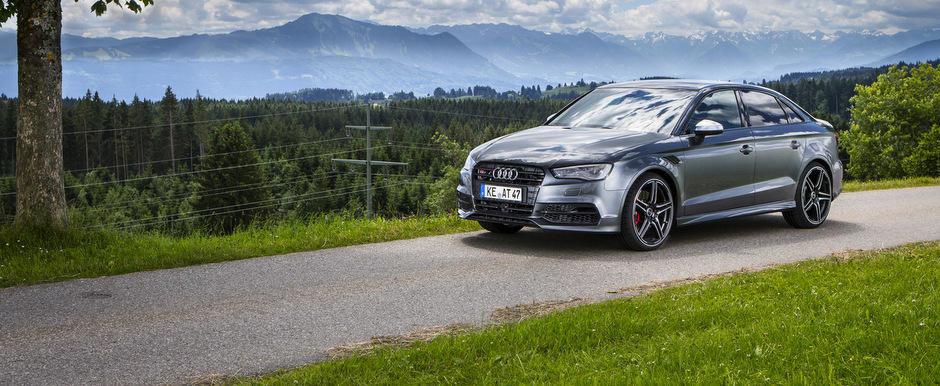 Tuning Audi: ABT 'slefuieste' noul S3 Sedan cu 400 CP si alte detalii