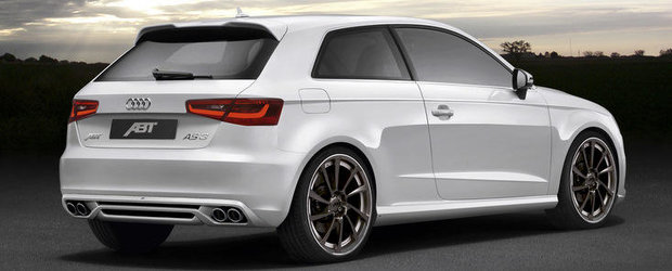 Tuning Audi: ABT Sportsline scoate la iveala primele bunatati dedicate noului A3